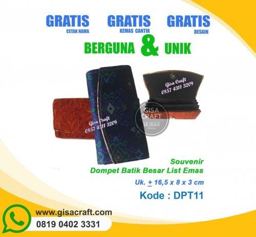 Souvenir Dompet Batik DPT11