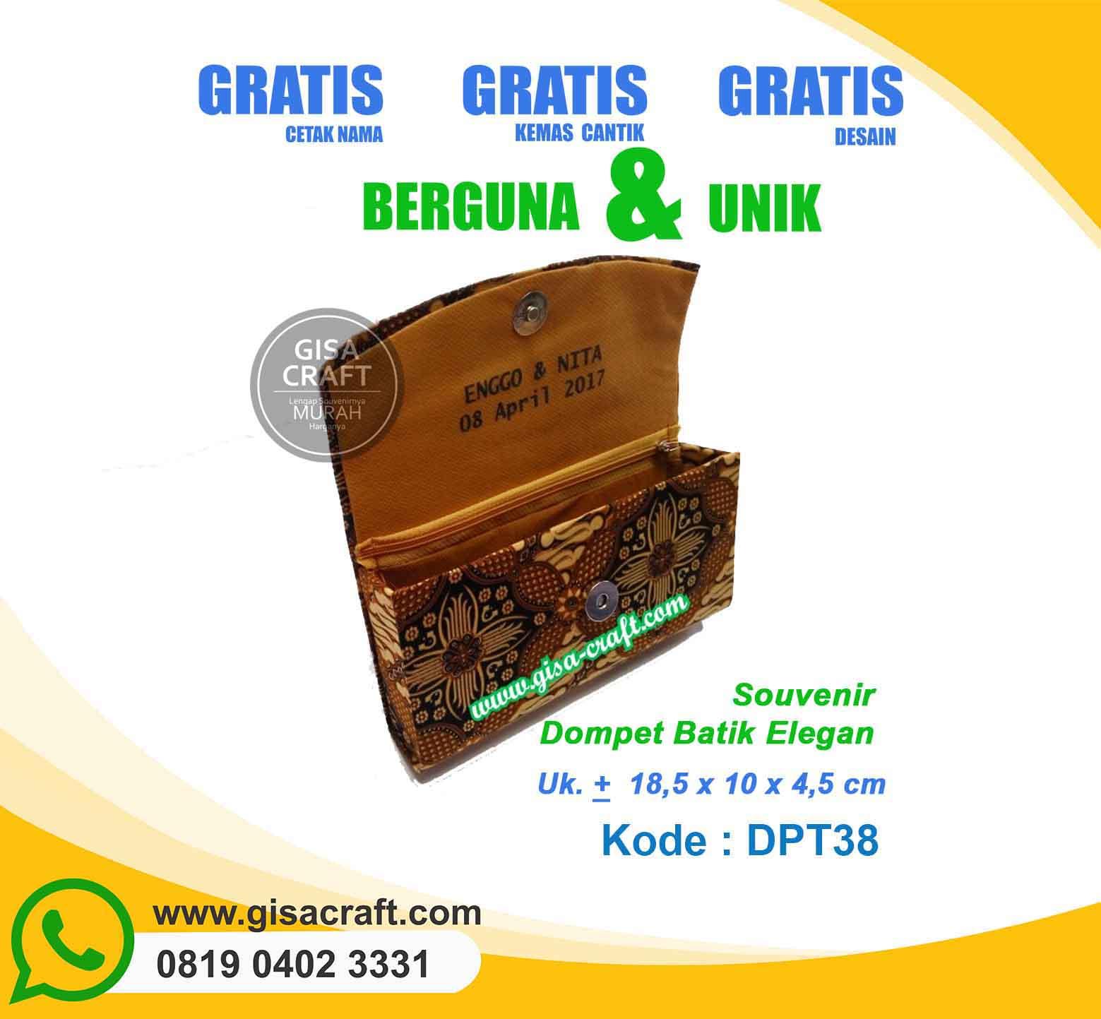 Dompet Batik DPT38