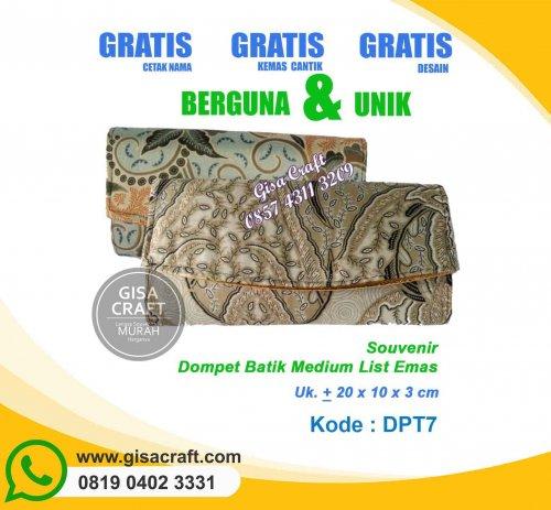 Souvenir Dompet Batik DPT7