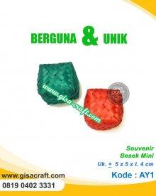 Souvenir Besek Mini AY1
