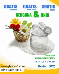 Souvenir Toples Bulat Mini GC2