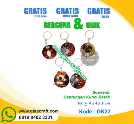 Souvenir Gantungan Kunci Bato GK22