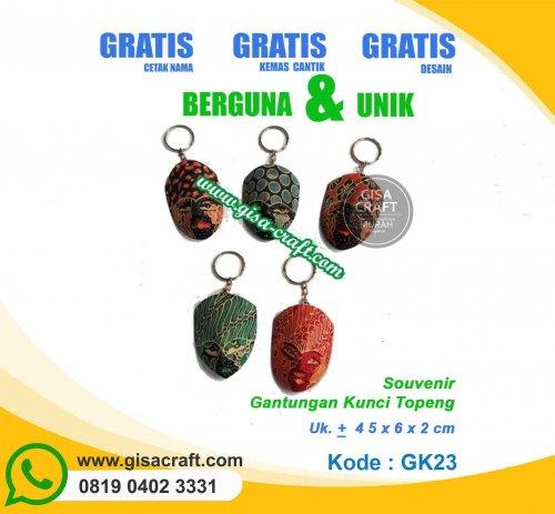 Souvenir Gantungan Kunci Topeng GK23