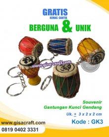 Souvenir Gantungan Kunci Gendang Rp GK3