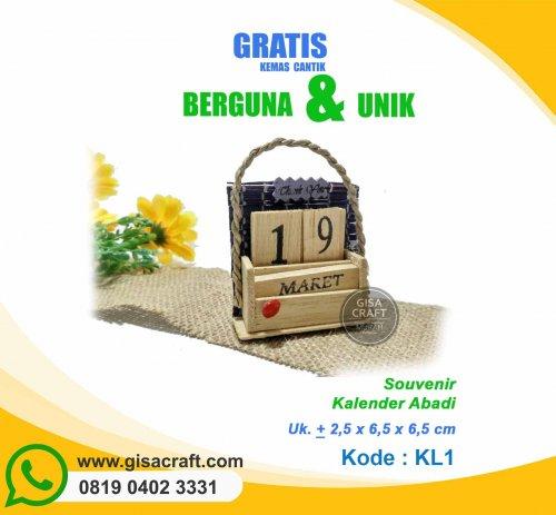Souvenir Kalender Abadi KL1
