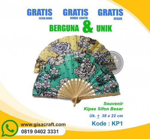 Souvenir Kipas Sifon Besar KP1