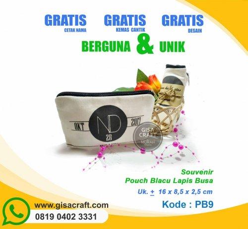 Souvenir Pouch Blacu Lapis Busa PB9