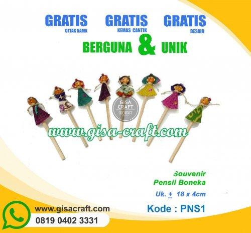Souvenir Pensil Boneka PNS1