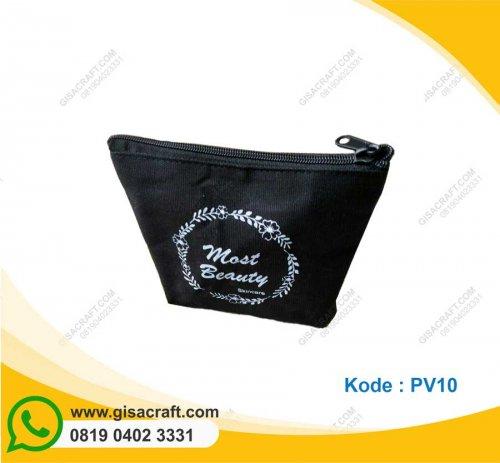 Souvenir Pouch Kanvas Polos Medium PV10