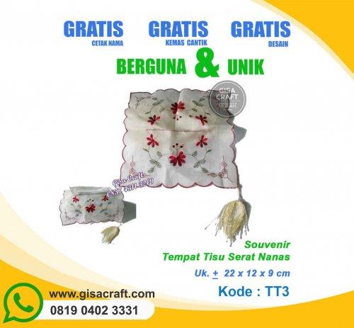 Souvenir Tempat Tisu Serat Nanas TT3
