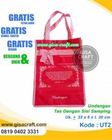 Undangan Tas Dengan Sisi Samping UT2