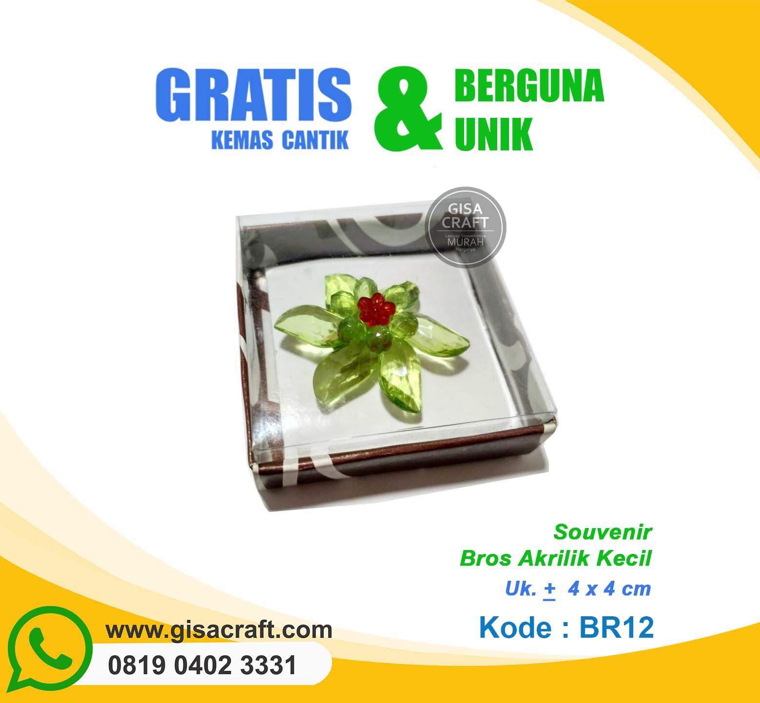 Souvenir Bros Akrilik Kecil BR12
