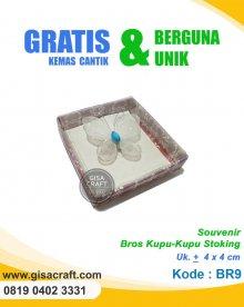 Souvenir Bros Kupu-Kupu Stoking BR9