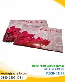 Buku Tamu Kenko Bunga BT1