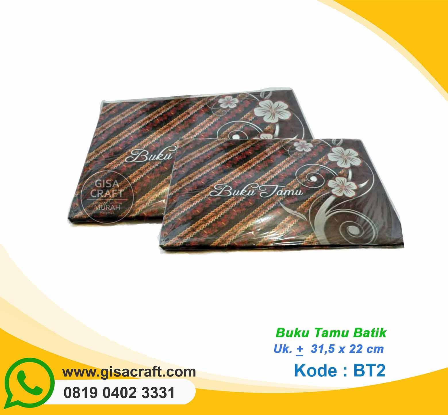 Buku Tamu Batik BT2