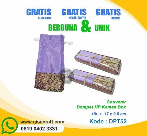 Souvenir Dompet HP Kemas Box DPT52