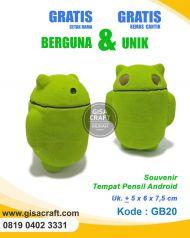 Souvenir Tempat Pensil Android GB20