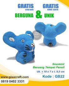 Souvenir Gerabah Tempat Pensil Beruang GB22