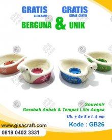 Souvenir Gerabah Asbak & Tempat Lilin Angsa GB26