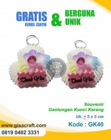 Souvenir Gantungan Kunci Kerang GK40