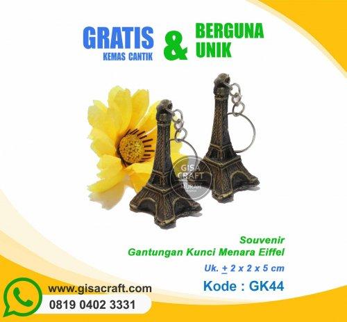 Souvenir Gantungan Kunci Menara Eiffel GK44