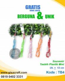 Souvenir Tasbih Plastik Mini TB4
