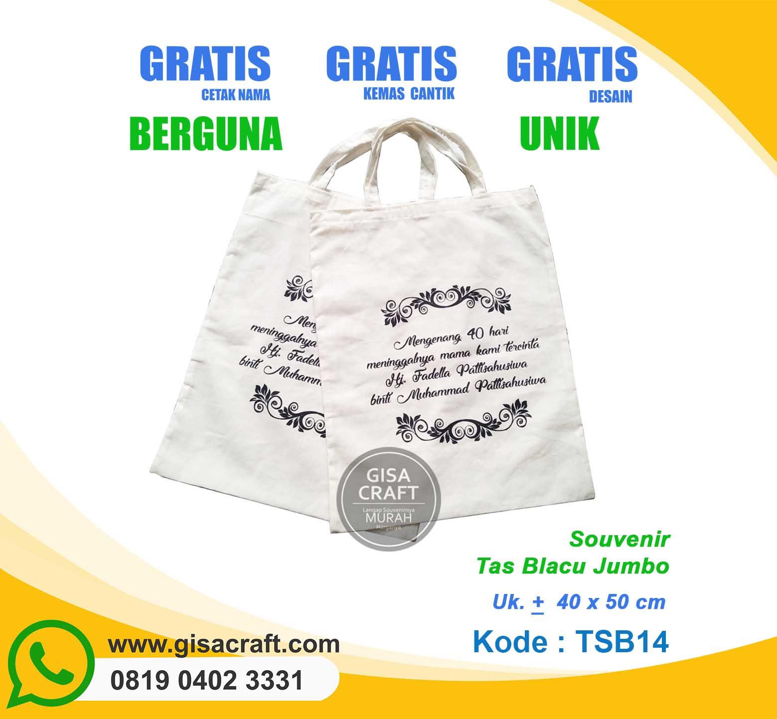 Souvenir Tas Blacu Jumbo TSB14