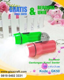 Souvenir Gantungan Kunci Senter GK50