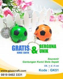 Souvenir Gantungan Kunci Bola Sepak GK51