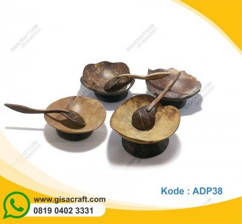 Souvenir Mangkuk Batok Kelapa ADP38