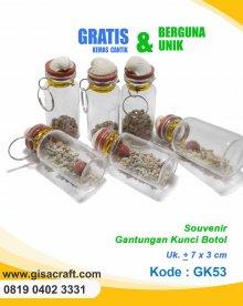 Souvernir Gantungan Kunci Botol GK53
