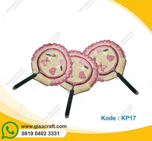Souvenir Kipas Kulit Besar KP17
