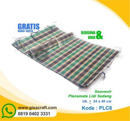 Souvenir Placemate Lidi Sedang PLC8