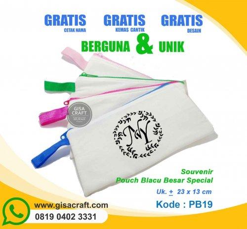 Souvenir Pouch Blacu Besar Special PB19