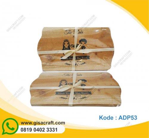 Souvenir Talenan Kayu Besar ADP53