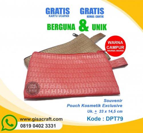 Souvenir Pouch Kosmetik Exclusive DPT79