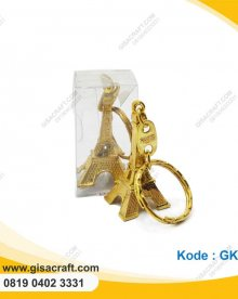 Souvenir Gantungan Kunci Paris Kemas Mika GK55