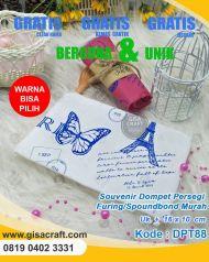 Souvenir Dompet Persegi Furing Spoundbond Murah DPT88