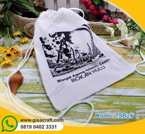 Souvenir Tas Blacu Gendong Serut Tali Sumbu Bagian Atas TSB24