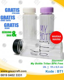 Souvenir My Bottle Tritan BBT1