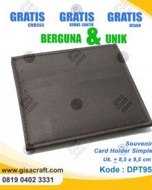 Souvenir Card Holder Simple DPT95
