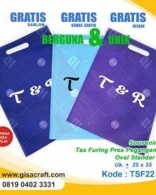 Souvenir Tas Furing Pres Pegangan Standart TSF22