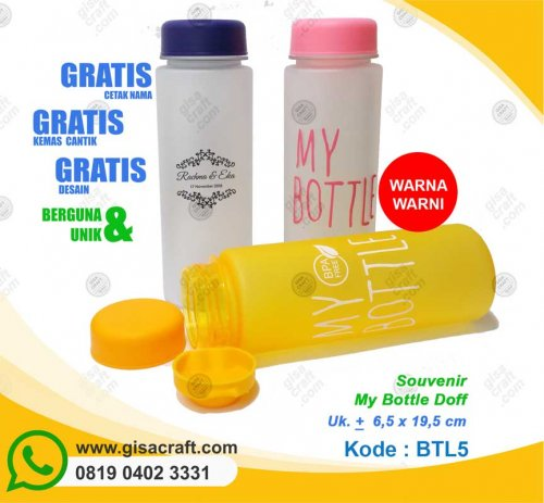 Souvenir My Bottle Doff BTL5