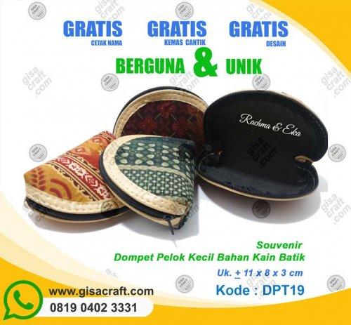 Souvenir Dompet Pelok DPT19
