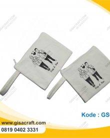 Souvenir Pocuh Kanvas Polos Besar Lapis Furing Dg Tali Cantelan GSC3