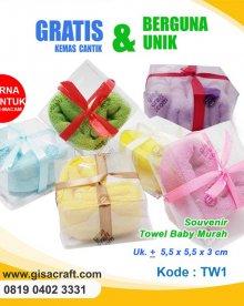 Souvenir Towel Baby Murah TW1