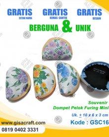 Souvenir Dompet Pelok Furing Mini GSC16