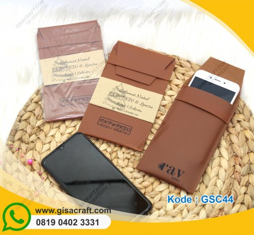 Dompet HP Clutch Leather Semarang GSC44