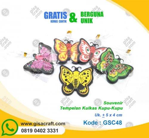 Souvenir Tempelan Kulkas Kupu-kupu GSC48