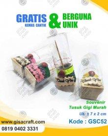 Souvenir Tusuk Gigi Murah GSC52